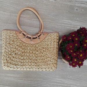 Brighton straw shoulder bag